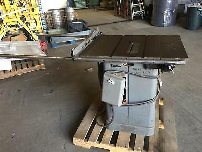"Rockwell 10"" Unisaw, 36"" x 27"" Table Saw 230/460v 3PH 5HP, 34-466"