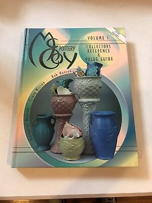 McCoy Pottery Collector Reference Value Books Vol 1 Nissen & Hanson Hardcover