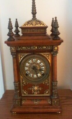 Ansonia Cabinet Antique Clock
