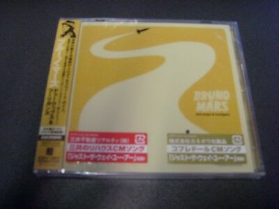 BRUNO MARS-DOO WOPS & HOOLIGANS-JAPAN CD + BONUS TRACKs