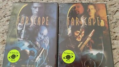 """New Farscape Series Sci Fi Set of 2 DVDs """"Hidden Memory / Bone To Be Wild"""""""