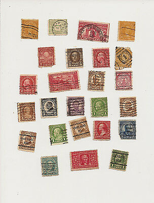 Vintage & Antique Postage Stamps Mixed Lot Of 25 Stamps Lot A