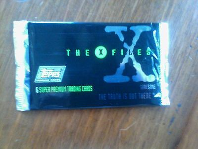 X-Files - Boosters - Blister - Cartes saison 1