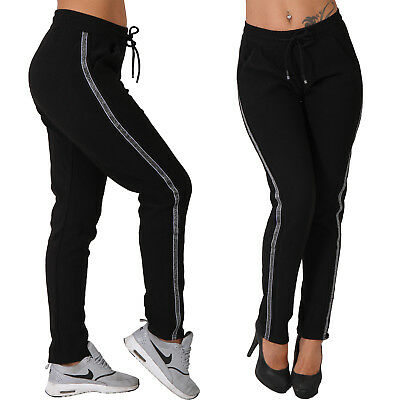 SALE Damen Thermo Winter Hose gefüttert dicke warme Jogging Sport Hose H190
