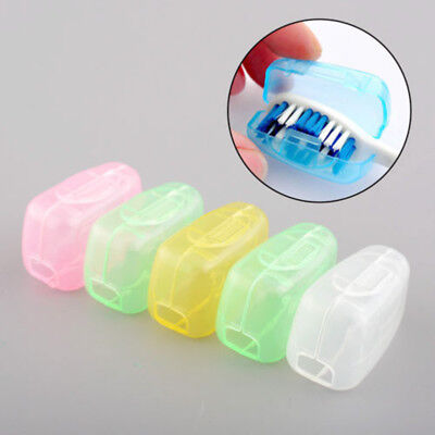 10PC Toothbrush Head Cover Holder Travel Camping Case Protect Brush Cap Case LK3