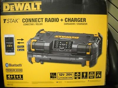 Dewalt DWST17510 TSTAK Connect Radio Bluetooth Charger USB Jobsite 20V Audio NEW