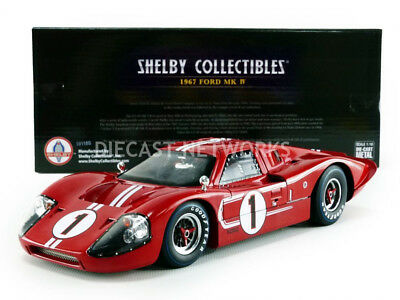 Shelby Collectibles - 1/18 - Ford Gt 40 Mk Iv - Winner Le Mans 1967 - Shelby423
