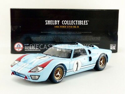 Shelby Collectibles - 1/18 - Ford Gt 40 Mk Ii - Le Mans 1966 - Shelby411