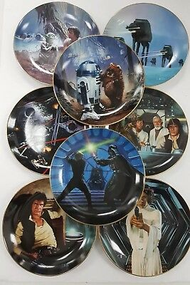 Hamilton Collection Star Wars Complete 1st Series Plate Set