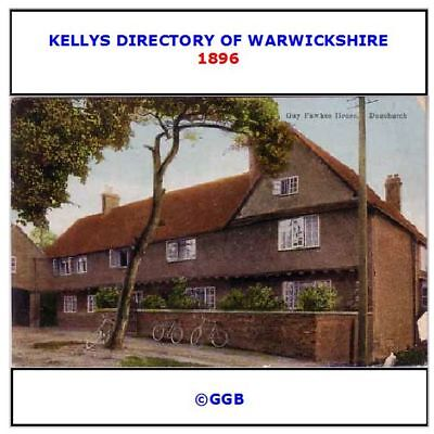 42 of Warwickshire history /& directories /& kellys directories on disc ebooks
