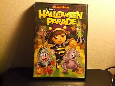 dora the explorer doras halloween parade dvd 2011
