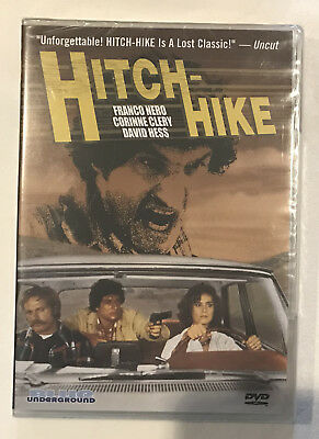 Hitch-Hike DVD Blue Underground Franco Nero, David Hess Exploitation NEW OOP