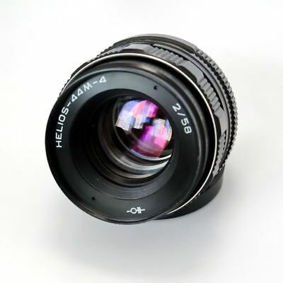 Helios 44m-4 lens 58mm M42 USSR Russia, for Canon, Nikon, Sony, Zenit