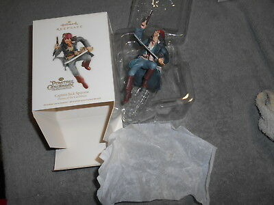 2011 Hallmark Keepsake Ornament Captain Jack Sparrow Pirates Of The Caribbean