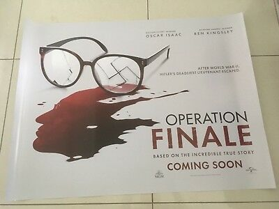Operation finale 30x40 double sided mint condition