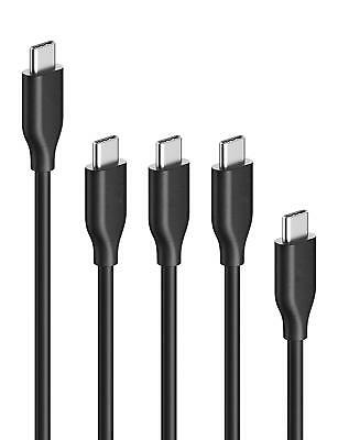 Anker PowerLine USB-C to USB 3.0 Cables (5-Pack: 4-inch, 3ft, and 6ft) for USB T