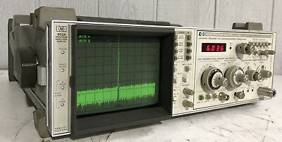 HP 8559A Spectrum Analyzer .01-21GHz with 853A Display