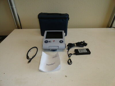 Optelec Tieman Traveller Portable Color Video Magnifier - Reading Aid