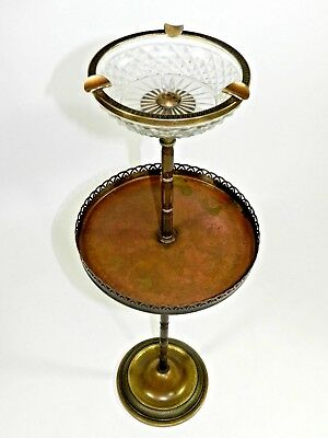 Antique Vintage Smoking Floor Stand Cigar Ashtray Art Deco