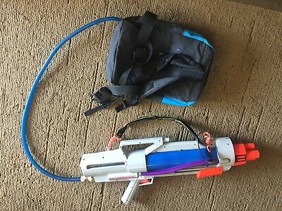 Vintage 90s Larami Super Soaker Cps 3000 With Backpack Water Gun Toy