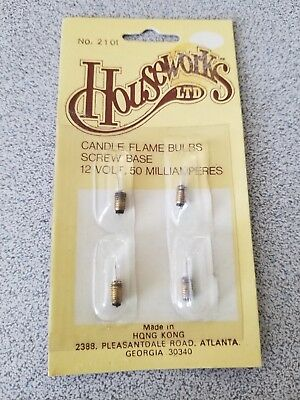 Houseworks Candle flame bulb 2101