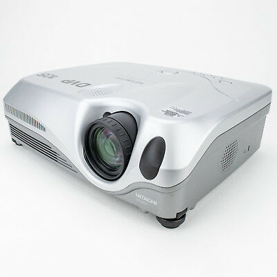 Hitachi CP-X445 LCD Multimedia Projector 3200 ANSI With Remote - Lamp 108 Hours