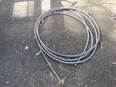 """5/8"""" Dia., 316 Stainless Steel Wire Rope Remnant"""