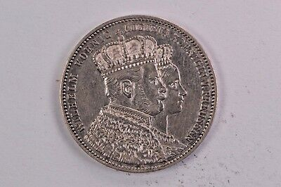 1861 Germany Prussia Thaler .99c NO RESERVE