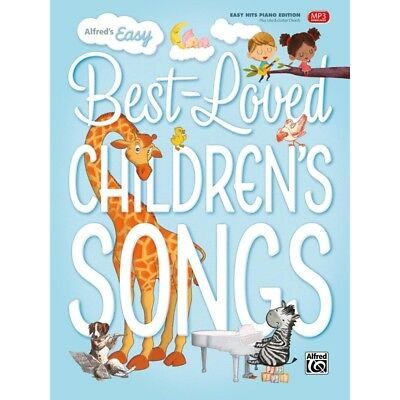 BELWIN Alfred's Easy Best-Loved Children's Songs Easy Hits Piano (Hardcover)