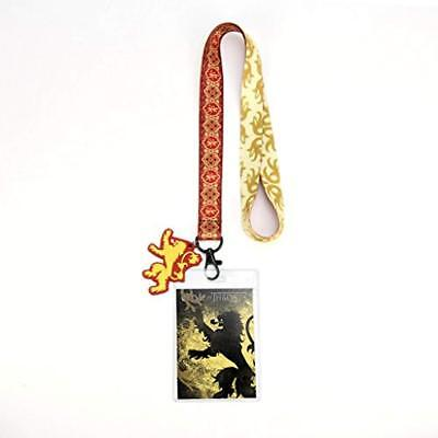 Game Of Thrones - House Lannister Lanyard