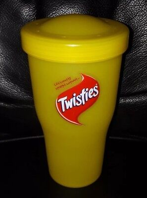 Rare Collectable Smiths Twisties Chips Container With Lid Great Used Condition
