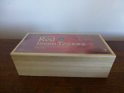 timber Tea Caddy Sealed Container Storage Box