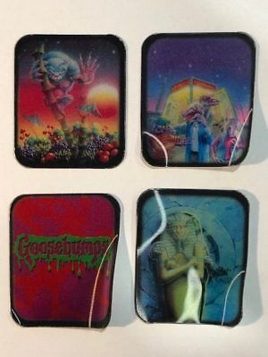 Goosebumps Book Lenticular Tazo Type 1997 90s Action Cards