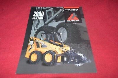 OWATONNA MUSTANG 330 Skid Steer Loader Dealer's Brochure
