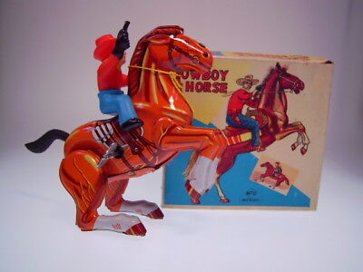 MECHANICAL COWBOY ON HORSE von MTU KOREA +++ NEW-WERTIG IN GOOD BOX