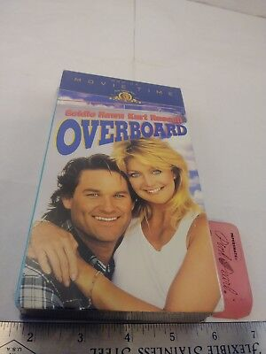Overboard (VHS, 1996, Movie Time) FACTORY SEALED