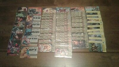 Marvel Overpower CCG Onslaught Expansion Set + Megapower Promo 10-Card Set RARE!