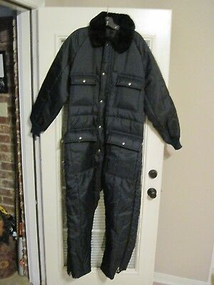 Walls USA Blizzard Pruf Large Regular Insulated Coveralls / Snow / Work Suit