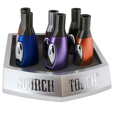 SCORCH TORCH / Easy Grip Straight Jet Flame Lighter / Ships FREE from CALIFORNIA