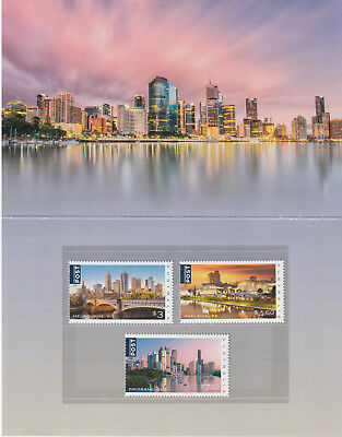 Australia 2018 : Beautiful Cities - Stamp pack. Mint Condition