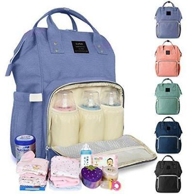 Baby Diaper Bag Large Capacity Mommy Backpack Baby Nappy Tote Bags Travelling BS