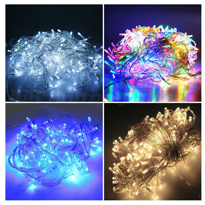10M/20M/50M/100M LED String Fairy Lights Indoor/Outdoor Xmas Christmas Party AU
