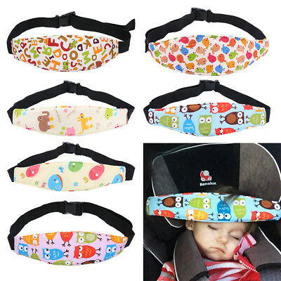 Baby Car Seat Head Support Pillow Infants Neck Relief Headband for Kids Safety b