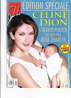 Celine Dion  Rare 7 Jours Magazine Special Edition Volme 12 March 2001 + Free