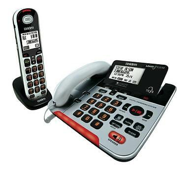 UNIDEN SSE37+1 VISUAL & HEARING IMPAIRED PHONE SYSTEM CORDLESS CORDED no box