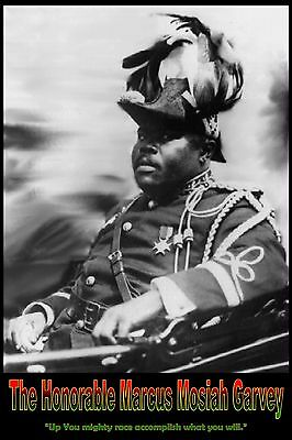 Marcus Garvey Poster, Black Revolutionary Poster, Black Star Liner,UNIA leader,