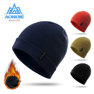 Outdoor Winter Keep Warm Hat Unisex Knit Baggy Beanie Ski Slouchy Cap  Breathable 674316cfe4d5