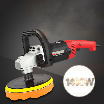 1400W Car Polisher Car/Furniture/Floor Polishing Waxing Machine Variable Speed