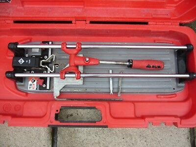 Rubi TS-43 PLUS MAX Tile Cutter Professional.