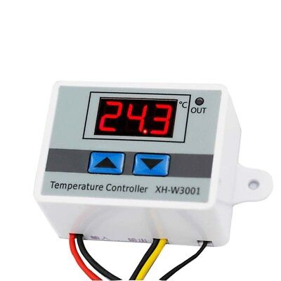 12V/24V/220V Temperature Digital Controller Temp Sensor Thermostat Control Relay